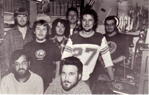 1983 Ham operators at Signy base