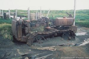 Base-AUS-Heard I_Remaining of Caterpillar tractor at Atlas Cove