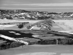 Base-AUS-Old Wilkes Base under snow_AUS-05