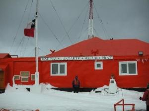 Basi CHL Arturo Prat Naval Base Antarctica