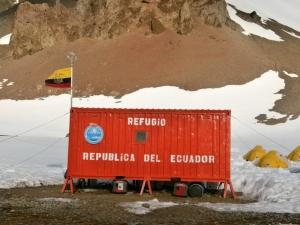 Basi ECU Refugio Antartico Ecuador