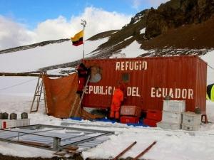 Basi ECU Refugio Ecuador Antartida