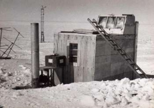 Greenhouse hut at Halley Base (1962)
