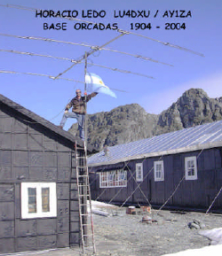 Base ARG-15 Horacio at Orcadas