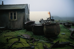 Macquarie Island_ANARE Station relics