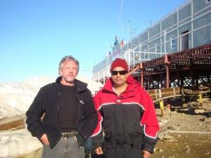 Oleg Sakharov RI1ANF & Bhagwati Prasad VU3BPZ