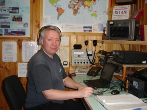Ham Operators in Antarctica