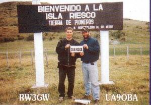 UA9OBA & RW3GWRiesco I.