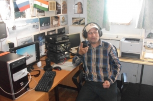 VU3BPZ operating MM from Ivan papanion Ship Shack