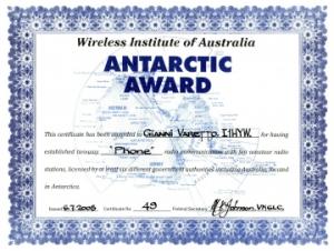WIA Antarctic Award rsd