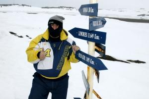 ZS0GTI Stuckert at Base Eduardo Frei, Chile
